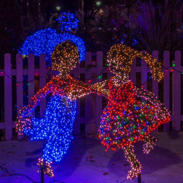 Two Children @ Lewis Ginter Botanical Garden - Richmond, VA