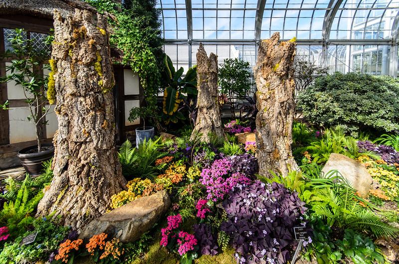 Concervatory West Wing Beds @ Lewis Ginter Botanical Garden - Richmond, VA
