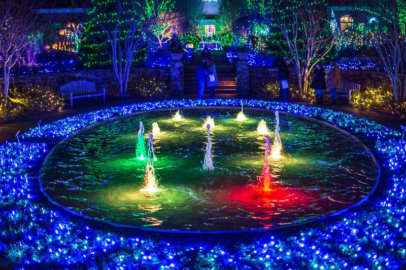 Fountain @ Lewis Ginter Botanical Garden - Richmond, VA