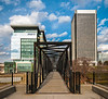 Pedestrian Bridge over the Haxall Canal @ 7th Street - Richmond, VA