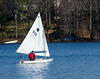 Sailing on Swift Creek Reservoir, Midlothian, VA