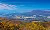 Elkton & Massanutten Mountain @ The Oaks Overlook - Mile 59, Skyline Drive, Shenandoah National Park, Elkton, VA
