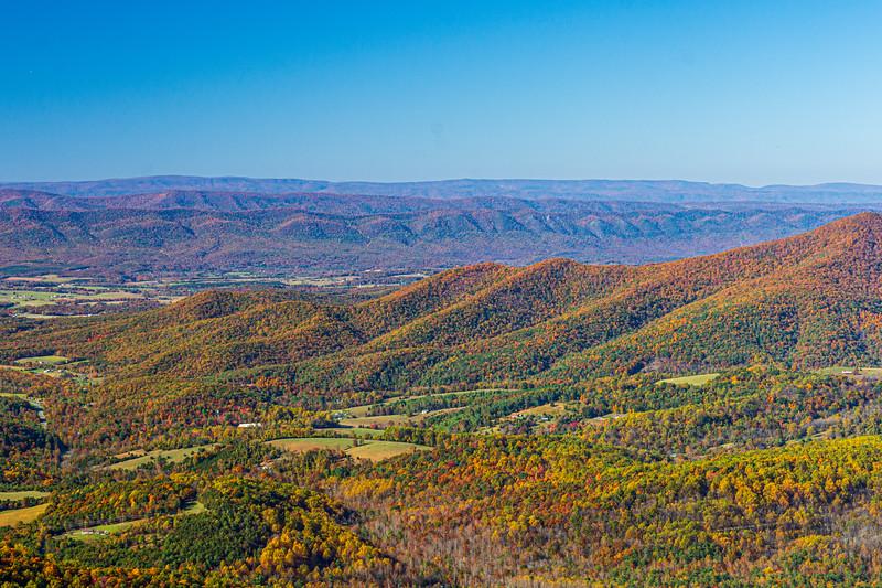 Neighbor Mountain from Jewell Hollow Overlook - Mile 36.5, Skyline Drive, Shenandoah National Park, Luray, VA