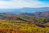 Fall Foliage @ The Point Overlook - Mile 55.5, Skyline Drive, Shenandoah National Park, Elkton, VA