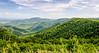 Old Rag, Robertson & Thorofare Mountains, Pinnacle Ridge from Pinnacles Overlook - Mile 35.1, Skyline Drive, Shenandoah National Park, Luray, VA