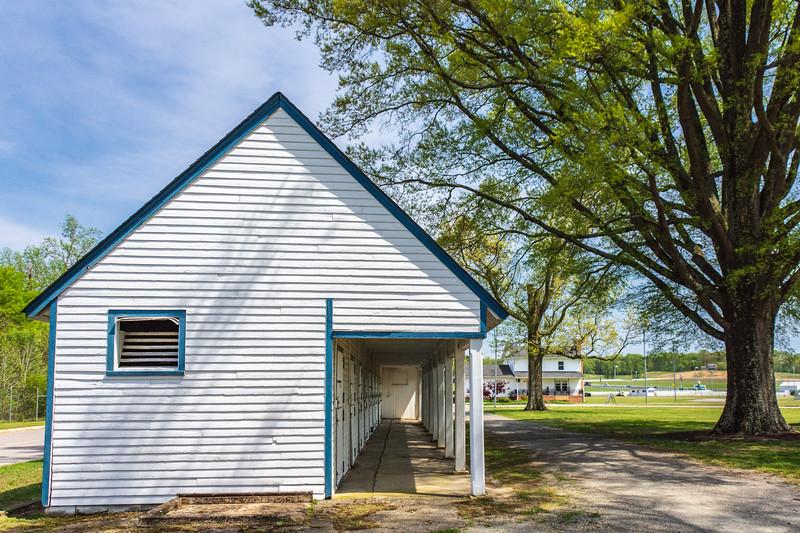Stalls (side view) @ The Meadow - Caroline County, VA