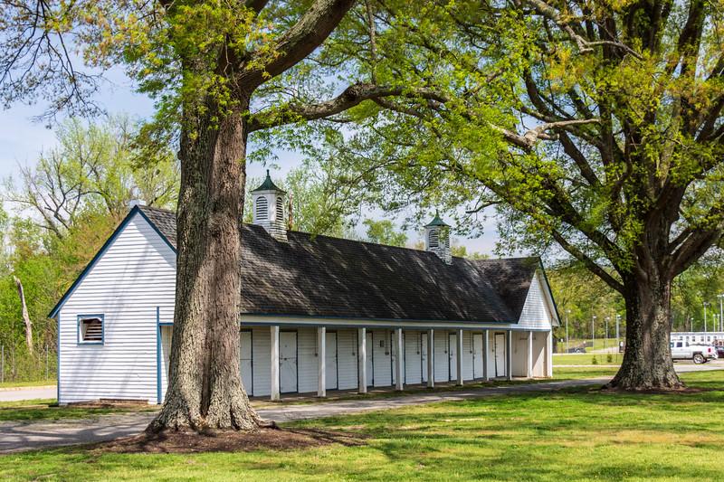 Stalls (front) @ The Meadow - Caroline County, VA