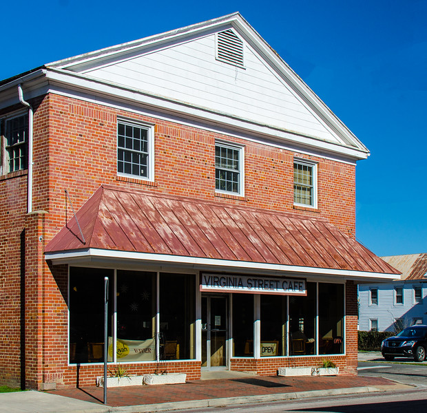 Virginia Street Cafe c. 1939 - Urbanna, VA