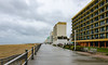 Rainy Morning on the Boardwalk - Virginia Beach, VA