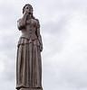 Norwegian Lady Statue by Ørnulf Bast c. 1962 @ Oceanfront Boardwalk - Virginia Beach, Virginia