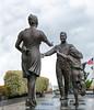 Homecoming Statue c. 2006 by Michael Maiden @ Naval Aviation Monument Park - Virginia Beach, VA