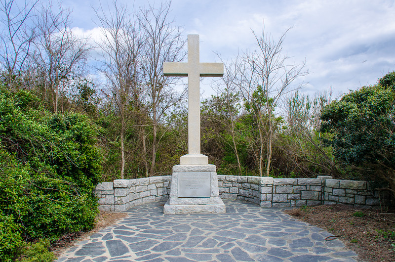 First Landing Cross @ Cape Henry Memorial c. 1935 @ Joint Expeditionary Base East - Virginia Beach, VA