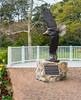 Eagle Bronze Sculpture by David Turner @ Norfolk Botanical Garden - Norfolk, VA