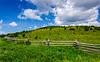 Split Rail Fence @ Elk Garden Trailhead - Mt. Rogers NRA, Whitetop, VA