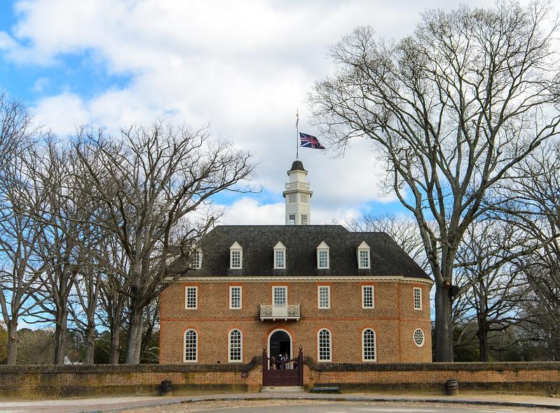 Third Capitol Building (reconstructed in 1934) @ Colonial Williamsburg - Williamsburg, VA