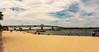 George P. Coleman Bridge & Yorktown Beach - Yorktown, VA, USA