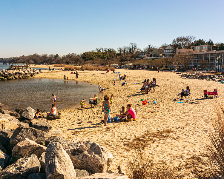 Yorktown Beach - Yorktown, VA, USA