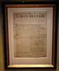 Declaration of Independence Broadside c. 1776 by John Gill, Edward Powars and Nathanial Willis @ American Revolution Museum at Yorktown - Yorktown, VA