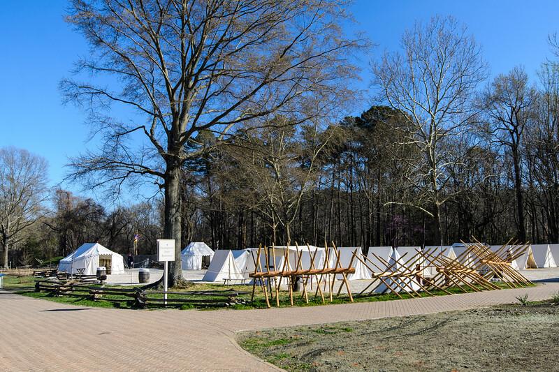 Continental Army Encampment @ American Revolution Museum at Yorktown - Yorktown, VA