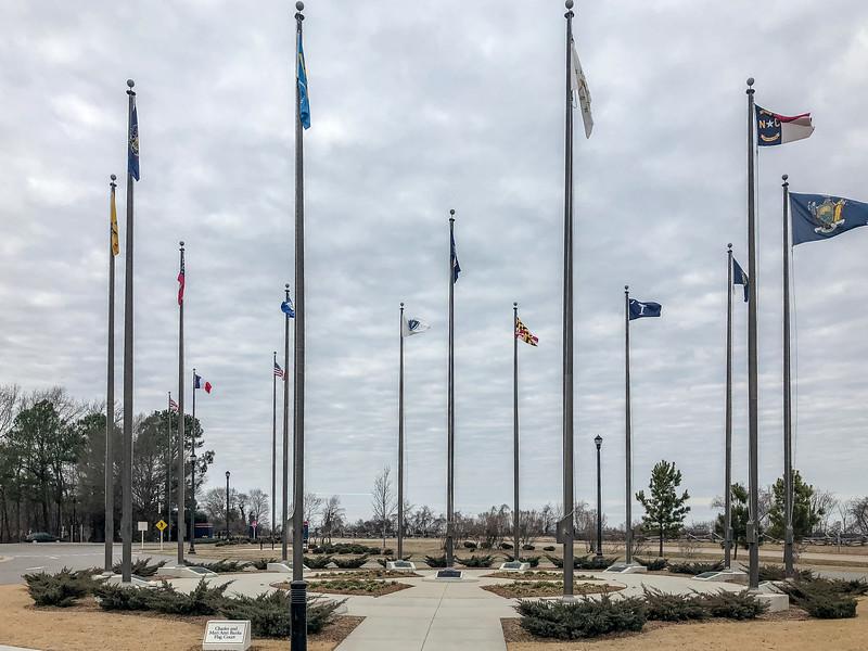 Charles and Mari Ann Banks Flag Court @ American Revolution Museum at Yorktown - Yorktown, VA