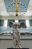 Winged Victory (aka Nike of Samothrace) copy of 200 bc Greek sculpture @ American Revolution Museum at Yorktown - Yorktown, VA