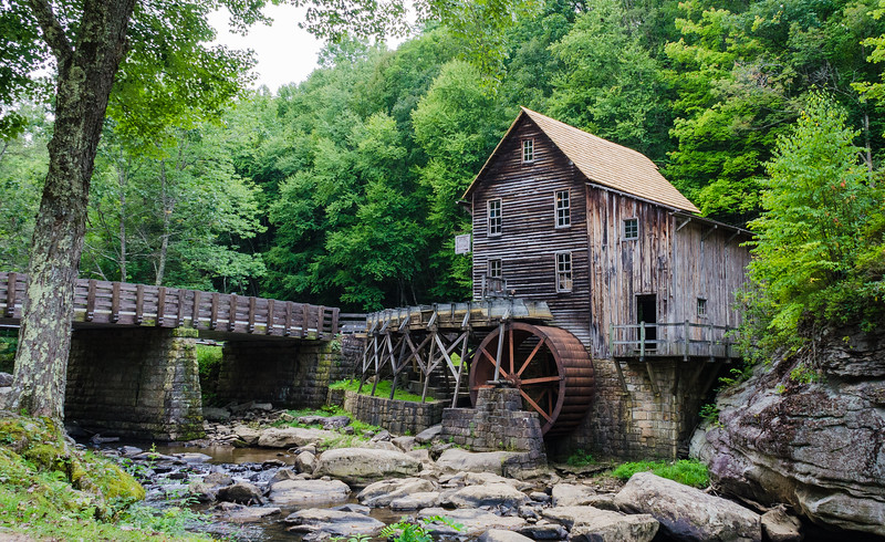 Glade Creek Grist Mill @ Babcock State Park - Clifftop, WV