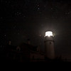 Cape Cod Lighthouse at night