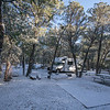 Second and third nights were at Chiricahua National Monument. It was very cold the first night, and snowed a few inches at camp site, and up to 6 inches near the top of the mountain where we did some hiking<br /> (2019 Thor Freedom Elite 22HE)