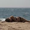 Sand worshiper near Herring Cove