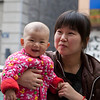 Cutest baby in China!  It is a miracle I found her/him... 1 in 1.3 billion.