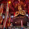 Inside  Buddhist shrine