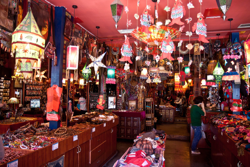 Random trinket store along street.  There were lots of interesting inexpensive things in stores like this, but I had limited space to bring stuff home.