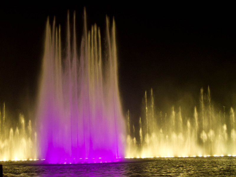fountain show on West Lake.