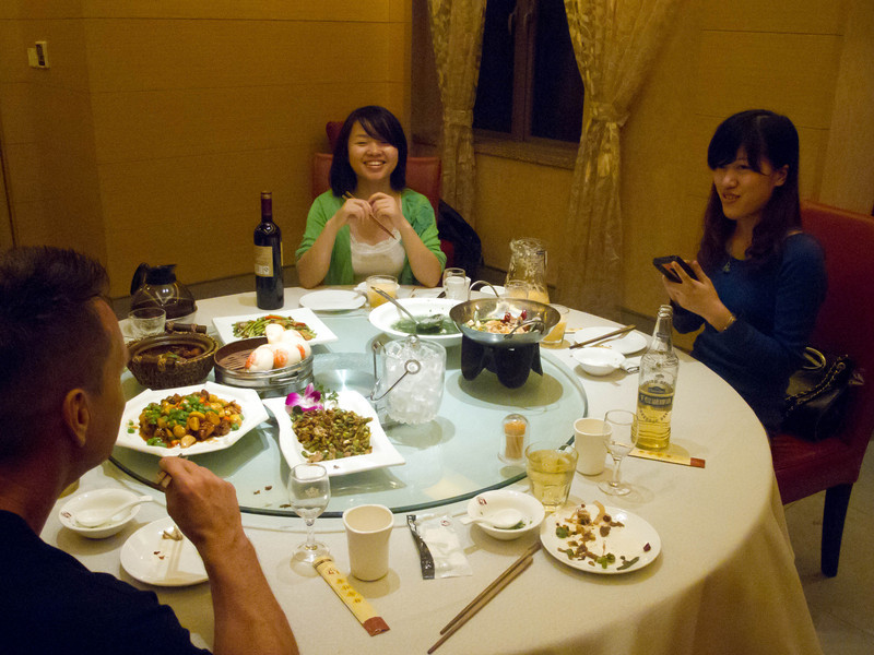 fun meal with great hosts.