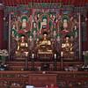 Inside temple.