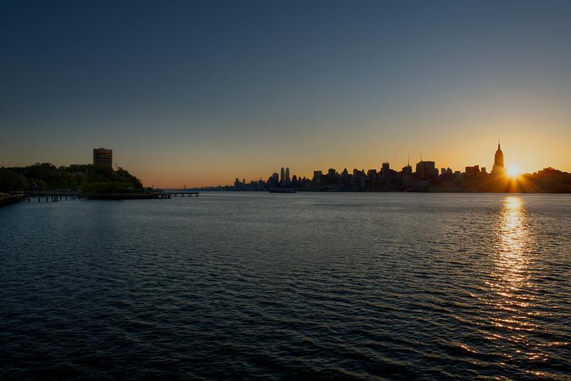 Manhattan Skyline From Hoboken