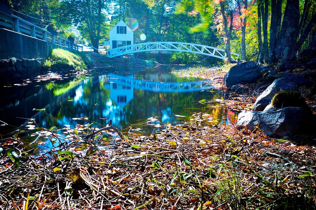 Somerville Maine Walking Bridge