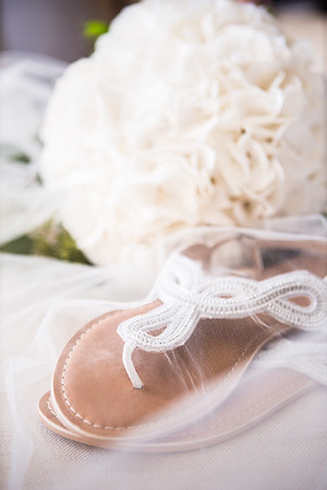 Summer wedding details