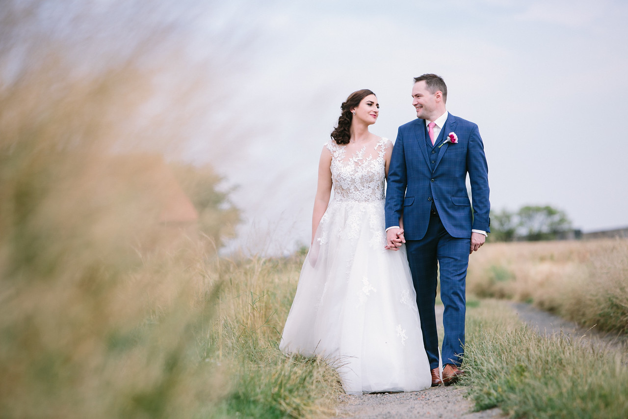 Summer countryside wedding