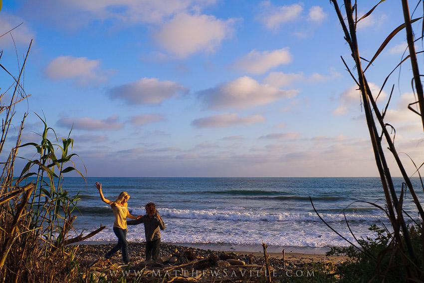 coastal bluffs, portraits