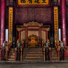 inside forbidden city.