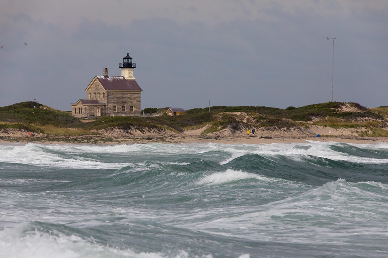 North light house, rough conditions persist.