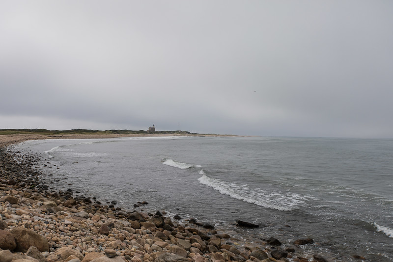 last day  of relative calm at the North Light House.
