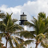 Light House  at the end of Key Biscayne