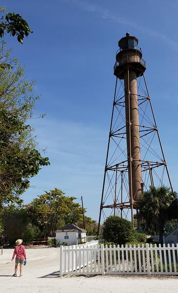 light house on Sanabel Island