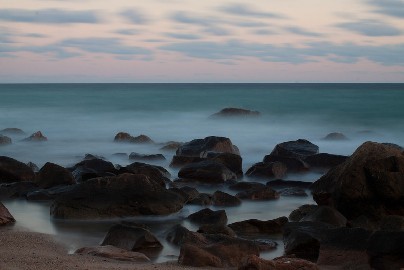 Tuesday's Sunset - long exposure with MD filter.