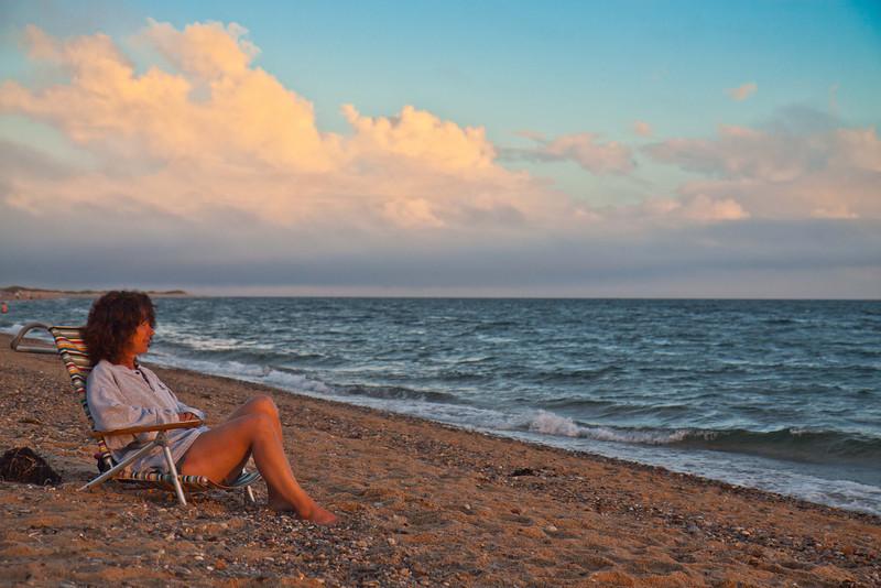 Kathy at Herring Cove