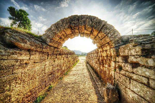 Olympia entrance