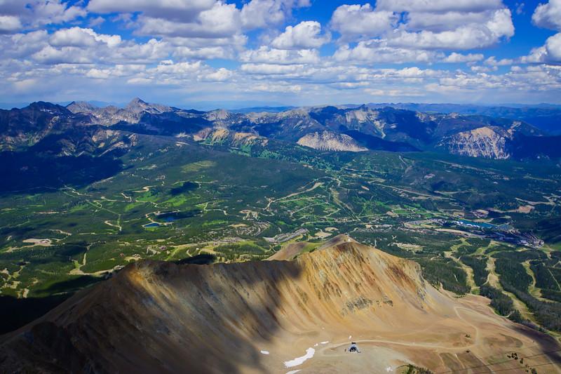 Long Peak View