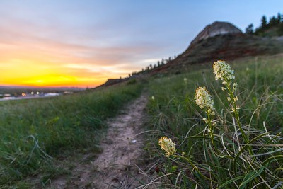 Sunset on Lookout Mountain in Spearfish